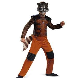 NEW Guardians of The Galaxy Rocket Raccoon Costume